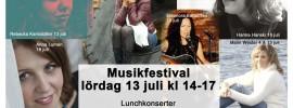 Lunchkonsert i Kungsträdgården